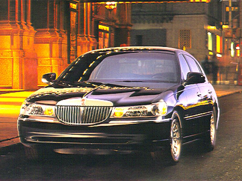 1998 lincoln town car reviews specs and prices. Black Bedroom Furniture Sets. Home Design Ideas