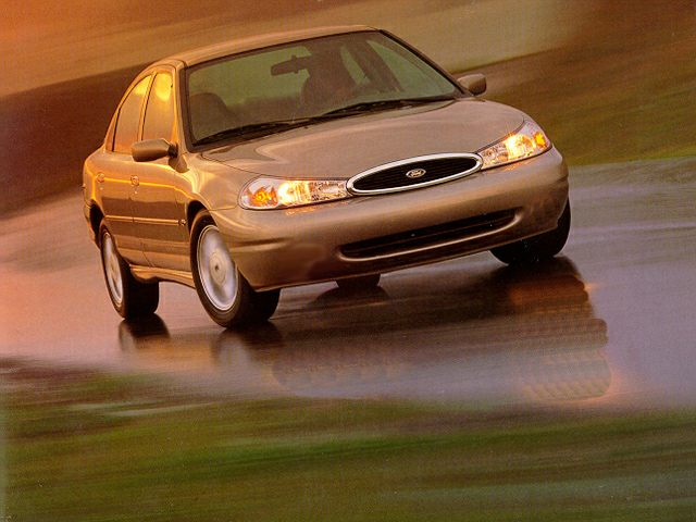 1998 Ford Contour LX Sedan for sale in Dallas for $1,996 with 206,652 miles