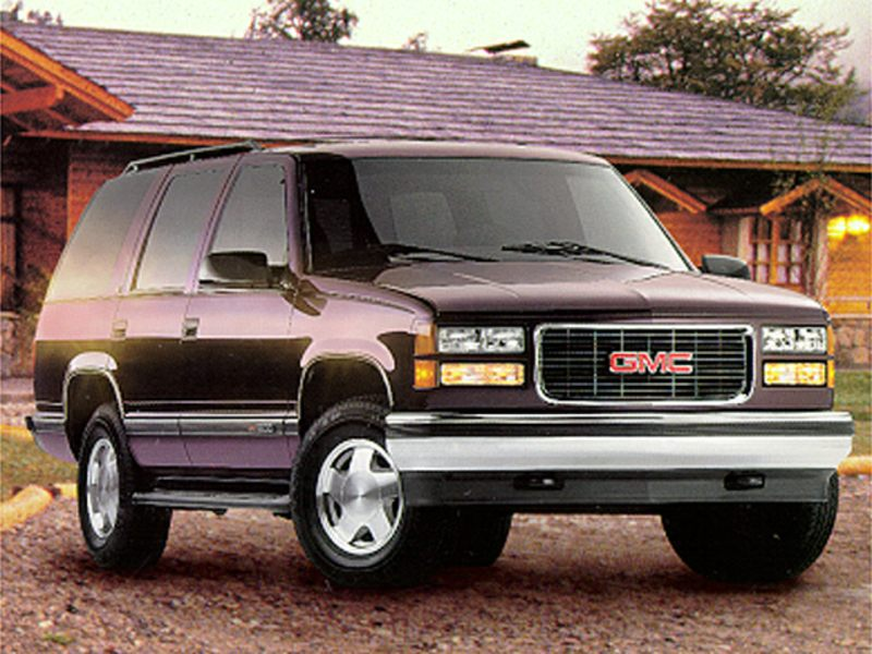 1998 gmc yukon reviews specs and prices. Black Bedroom Furniture Sets. Home Design Ideas