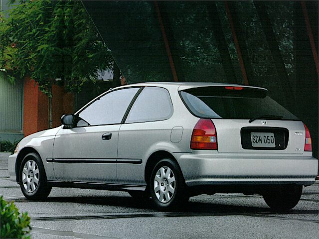 1998 Honda Civic Reviews Specs And Prices Cars Com