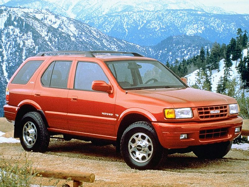 1998 isuzu rodeo reviews specs and prices. Black Bedroom Furniture Sets. Home Design Ideas
