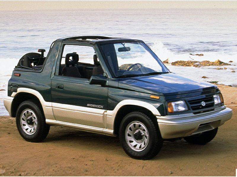 Suzuki Sidekick Mpg