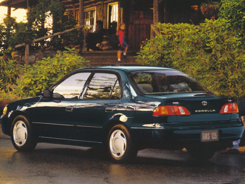 1998 toyota corolla specs pictures trims colors. Black Bedroom Furniture Sets. Home Design Ideas