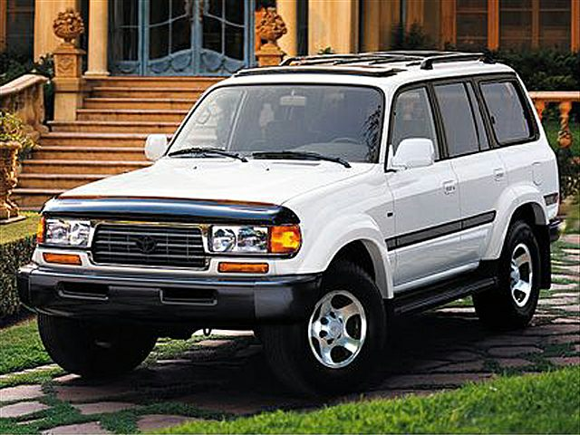 1998 Toyota Land Cruiser Reviews Specs And Prices Cars Com