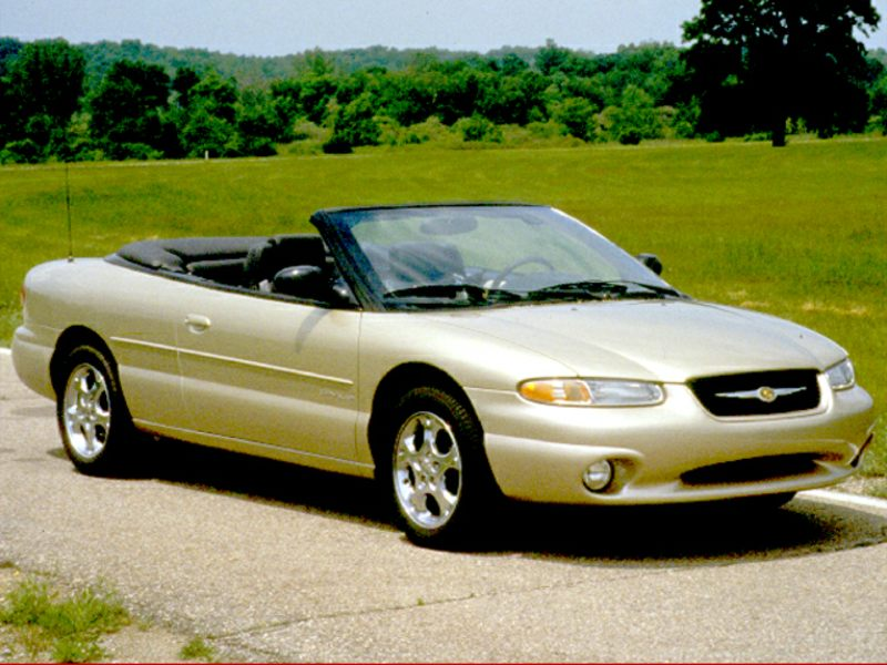 1999 chrysler sebring reviews specs and prices. Black Bedroom Furniture Sets. Home Design Ideas