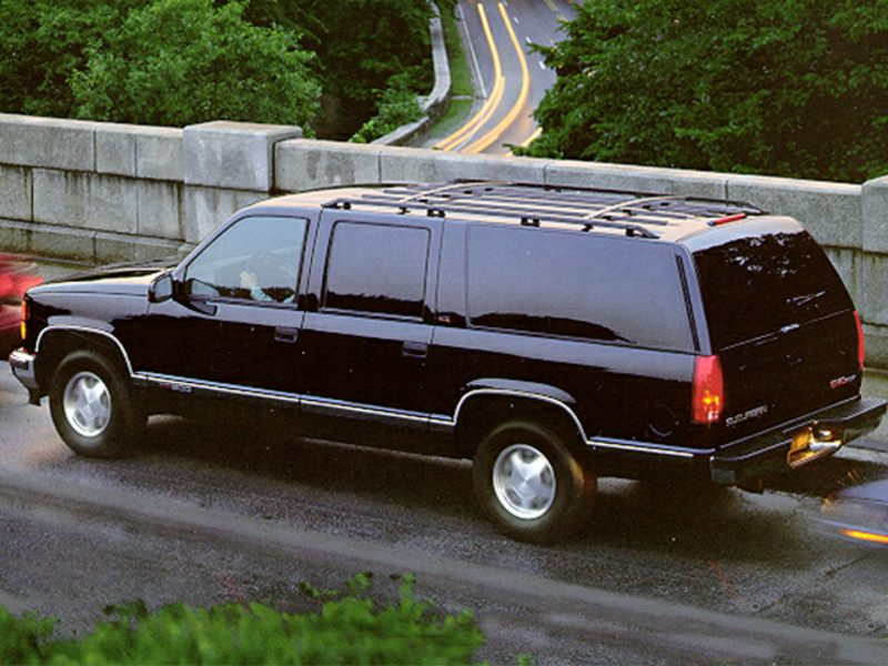 1999 gmc suburban reviews specs and prices. Black Bedroom Furniture Sets. Home Design Ideas