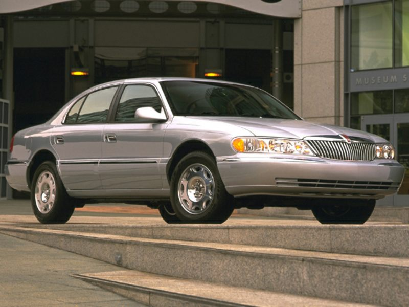 1999 lincoln continental specs pictures trims colors. Black Bedroom Furniture Sets. Home Design Ideas