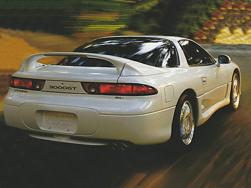 mitsubishi 3000gt coupe models price specs reviews. Black Bedroom Furniture Sets. Home Design Ideas