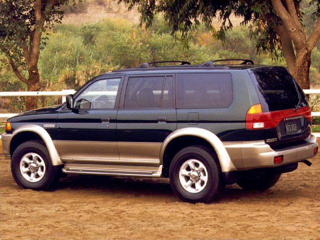 1999 Mitsubishi Montero Sport LTD SUV for sale in Midland for $1,501 with 189,999 miles