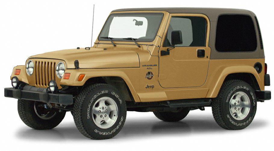 2000 Jeep Wrangler Sahara SUV for sale in Tucson for $9,995 with 85,400 miles.