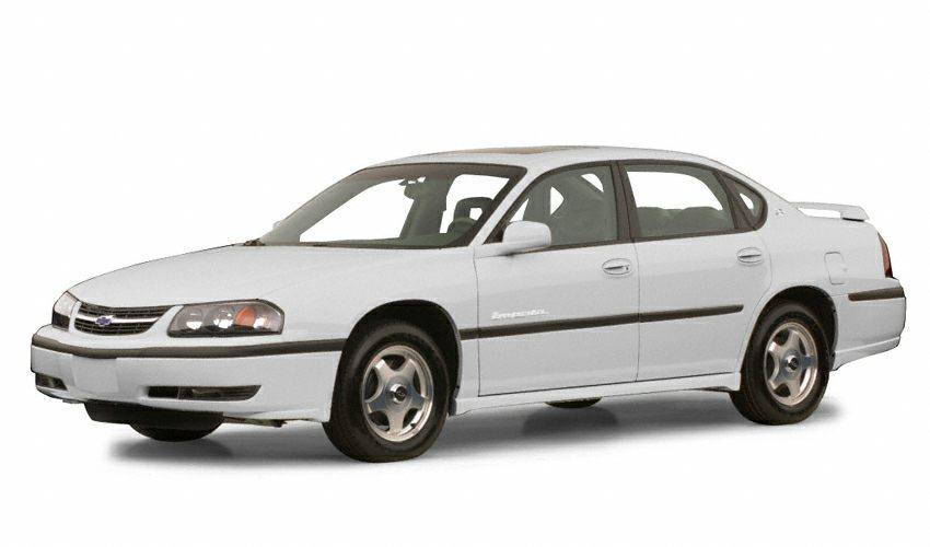 2001 Chevrolet Impala Sedan for sale in Laurel for $3,500 with 241,812 miles