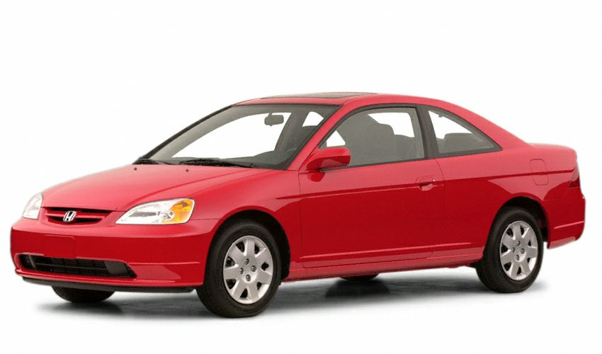 2001 Honda Civic EX Coupe for sale in Wayzata for $0 with 207,180 miles