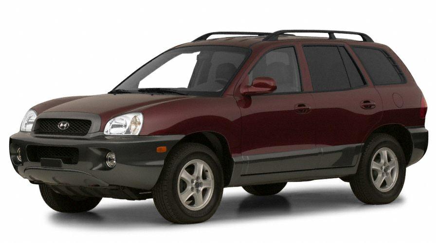 2001 Hyundai Santa Fe Specs Pictures Trims Colors