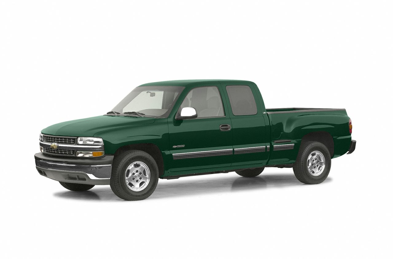 2002 Chevrolet Silverado 1500 LS Extended Cab Extended Cab Pickup for sale in Florence for $8,995 with 210,751 miles.
