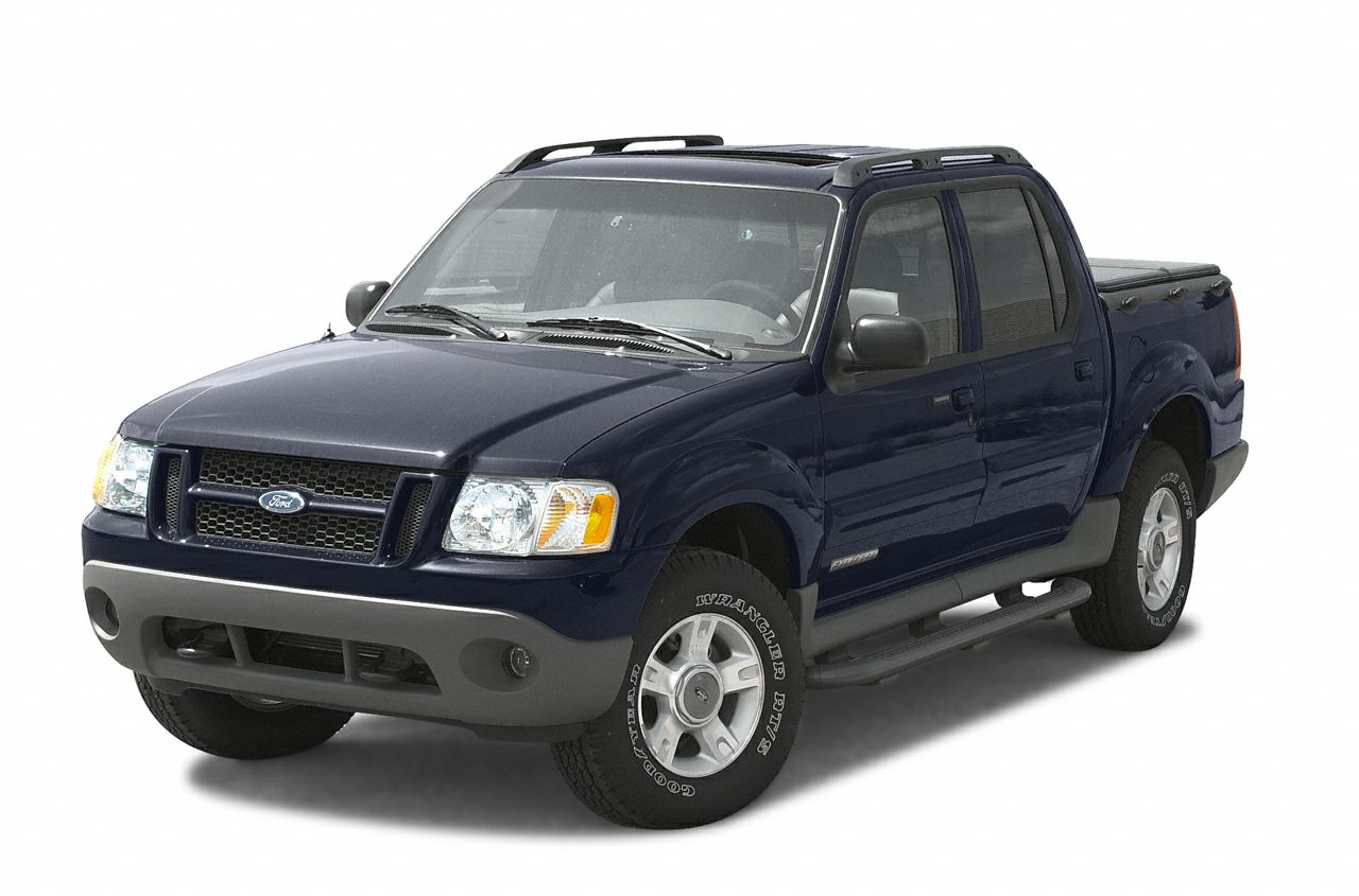 2002 Ford Explorer Sport Trac Crew Cab Pickup for sale in Whitman for $5,995 with 150,000 miles.