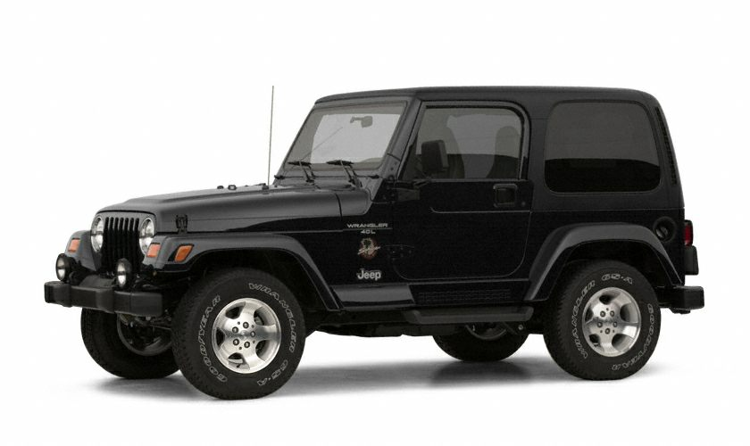 2002 Jeep Wrangler Sahara SUV for sale in Pine Bluff for $0 with 58,206 miles