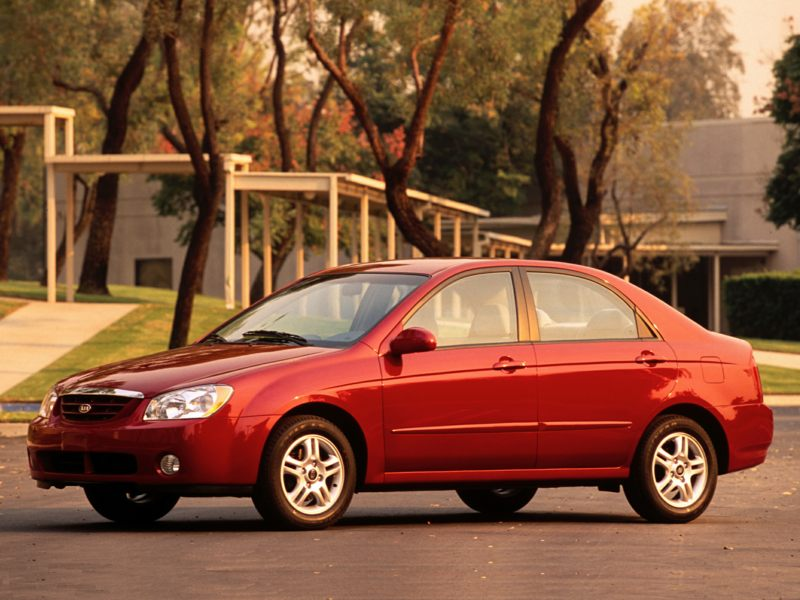 2003 kia spectra reviews specs and prices. Black Bedroom Furniture Sets. Home Design Ideas