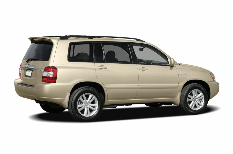 2006 toyota highlander hybrid reviews specs and prices. Black Bedroom Furniture Sets. Home Design Ideas