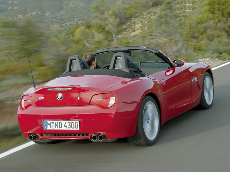 2008 Bmw Z4 M Reviews Specs And Prices Cars Com