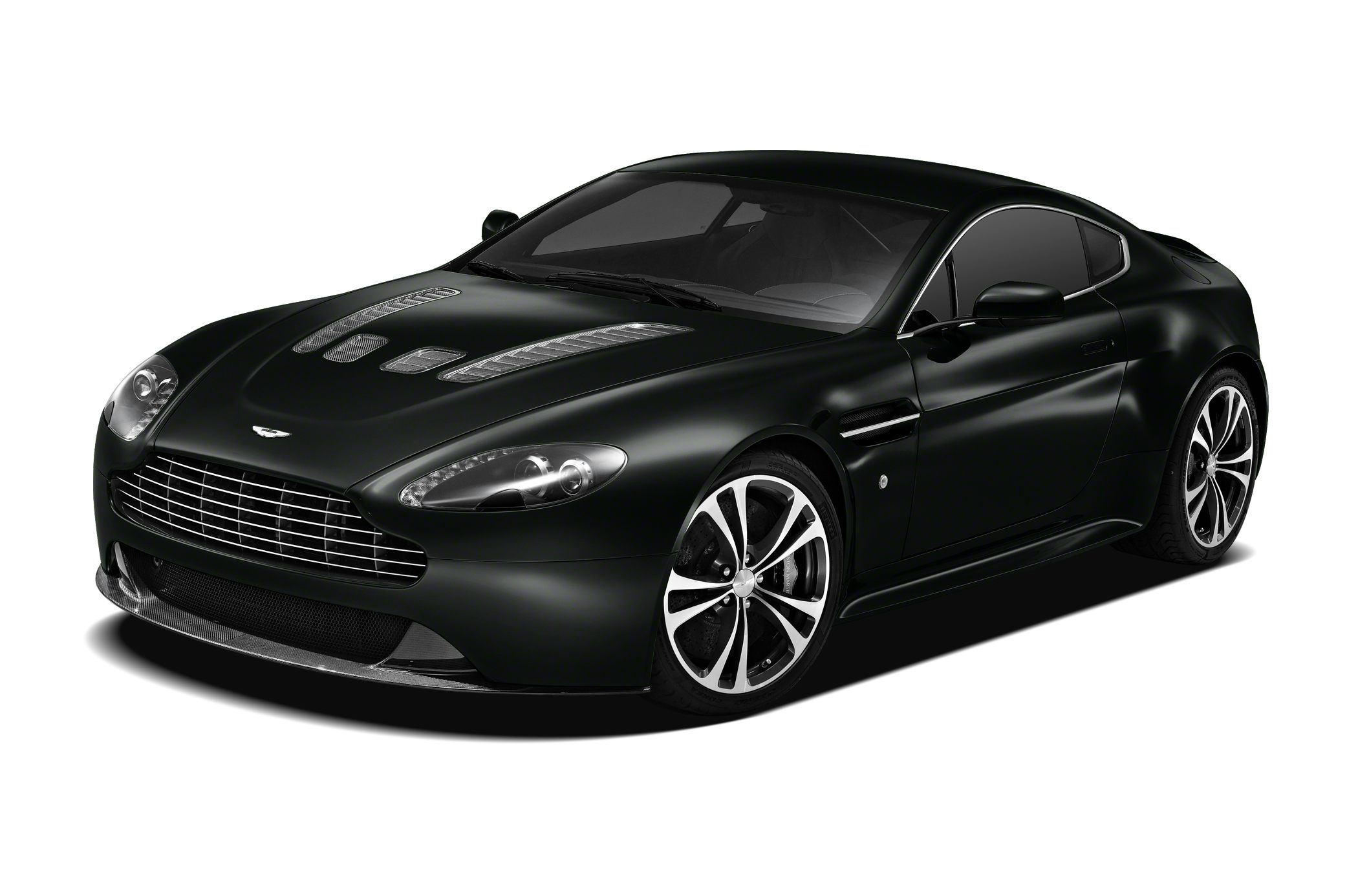 2011 Aston Martin V12 Vantage Carbon Black Coupe for sale in Beverly Hills for $138,880 with 11,705 miles