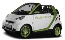 Colors, options and prices for the 2011 smart fortwo electric drive