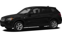 Colors, options and prices for the 2012 BMW X3