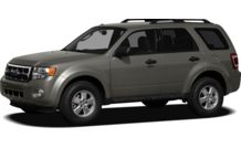Colors, options and prices for the 2012 Ford Escape