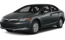 Colors, options and prices for the 2012 Honda Civic Hybrid