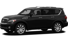 Colors, options and prices for the 2012 Infiniti QX56