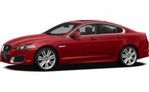 Colors, options and prices for the 2012 Jaguar XF