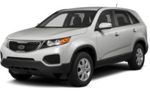 Colors, options and prices for the 2012 Kia Sorento
