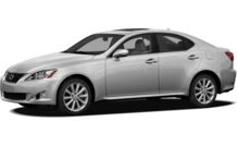 Colors, options and prices for the 2012 Lexus IS 250