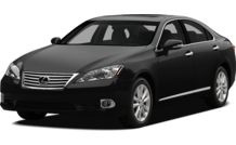 Colors, options and prices for the 2012 Lexus ES 350