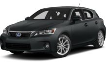 Colors, options and prices for the 2012 Lexus CT 200h