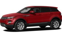 Colors, options and prices for the 2012 Land Rover Range Rover Evoque