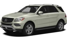 Colors, options and prices for the 2012 Mercedes-Benz M-Class
