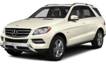 Colors, options and prices for the 2015 Mercedes-Benz ML