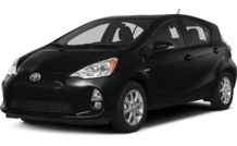 Colors, options and prices for the 2014 Toyota Prius c