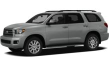 Colors, options and prices for the 2012 Toyota Sequoia