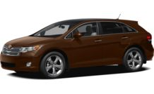Colors, options and prices for the 2012 Toyota Venza