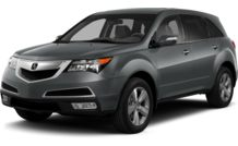 Colors, options and prices for the 2013 Acura MDX