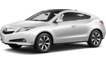 Colors, options and prices for the 2013 Acura ZDX