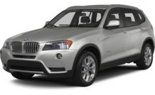 Colors, options and prices for the 2013 BMW X3