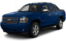 Colors, options and prices for the 2013 Chevrolet Avalanche