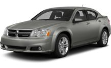 Colors, options and prices for the 2013 Dodge Avenger