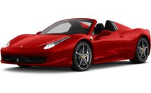 Colors, options and prices for the 2013 Ferrari 458 Spider