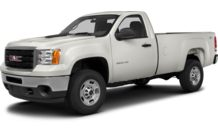 Colors, options and prices for the 2013 GMC Sierra 2500HD