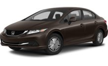Colors, options and prices for the 2013 Honda Civic