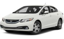 Colors, options and prices for the 2014 Honda Civic Hybrid