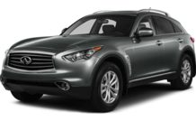 Colors, options and prices for the 2013 Infiniti FX37